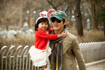 cute daddy and daughter :)