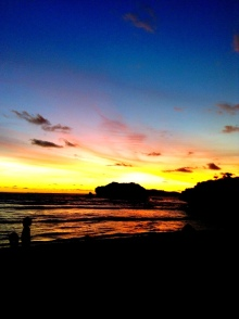 """""""One must wait until evening to truly see how magnificent the day must have been"""". Socrates. (Sundak, Gunung Kidul)"""